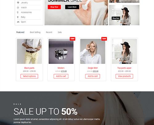 Envo Storefront E-Ticaret Teması