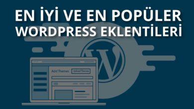 Photo of WordPress Güncel Destek ve Sohbet Eklentisi 2020