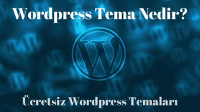 Photo of WordPress Tema Nedir ve Ücretsiz Temalar