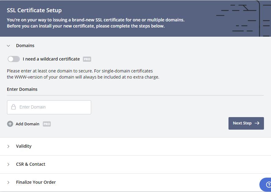 ssl sertifikası işlemleri 2